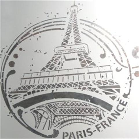 pochoir tour eiffel photo (Small)