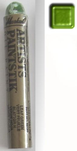 Baton peinture pochoir markal vert feuille irise
