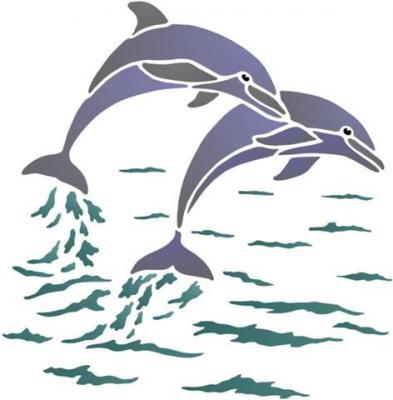 Dauphins en saut