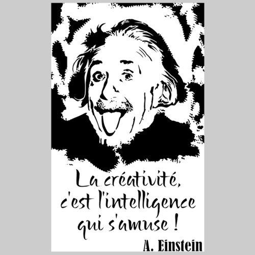 Div3984 einstein citation creativite pochoir mon artisane p