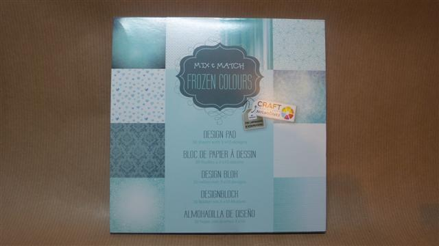 Feuilles scrapbooking frozen colours