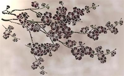 Branche de cerisier du Japon