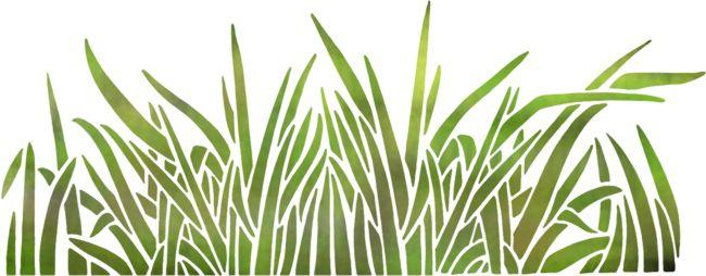 Fri2004 pochoir grandes herbes mon artisane