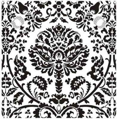 Grand motif baroque