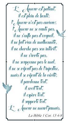 Verset l'Amour