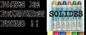Packs de peintre solide promo