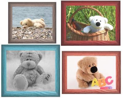 4 oursons encadrés
