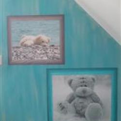 papier peint oursons personnalisé