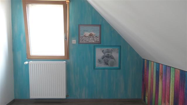 Papier peint personnalise oursons 1