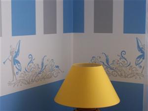 Mon artisane style pochoir sp caliste du pochoir et de la d co for Pochoir a peindre sur mur