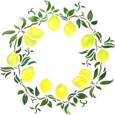 Rosace de citrons