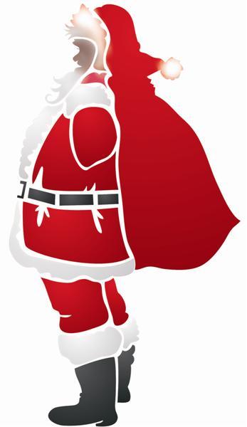 Pochoir Pere Noel.Pochoir De Père Noel Réutilisable à Volonté En Plastique