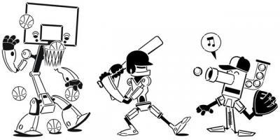 Robots sportifs