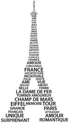 Tour Eiffel mots