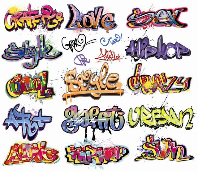 Stickers graffitis autocollants 2