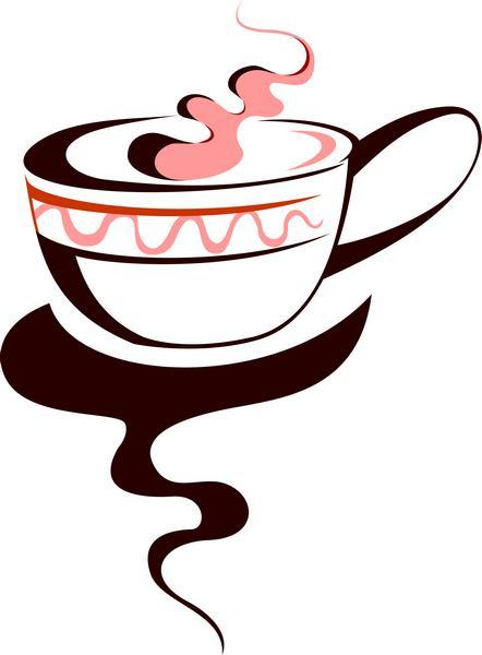 tasse de th ou caf en pochoir r utilisable volont. Black Bedroom Furniture Sets. Home Design Ideas