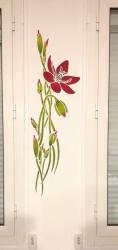 pochoir fleur Eliane