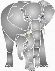 Deux beaux éléphants