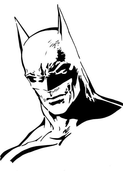 Batman pochoir