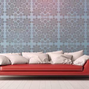 Chambre moucharabieh mosaique orientale pochoir