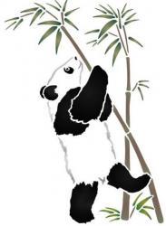 Panda sur branche