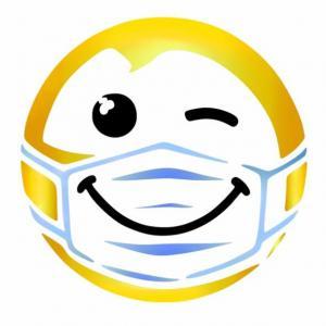 D2154 emoticone masque pochoir