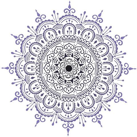 Div09962 pochoir mandala rosace mon artisane
