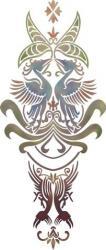 Motif celtique oiseaux