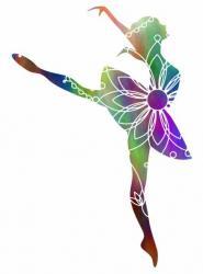 Danseuse classique stylisée