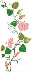 Frise hibiscus