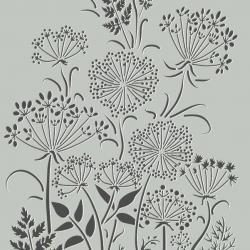 Pochoirs fleurs des champs
