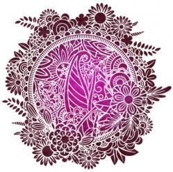 Cercle de fleurs