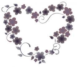 Coeur fleuri