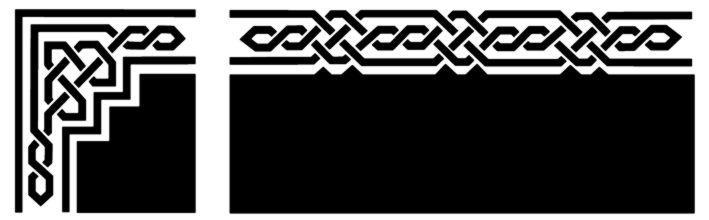 Fri045489 frise et angle celtique