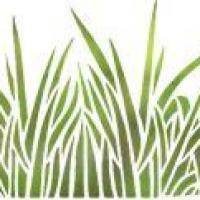 Fri2004 pochoir grandes herbes mon artisane repetition de motifs