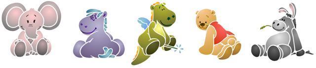 Fri447515 frise animaux enfantins en 2 pochoirs superposables small