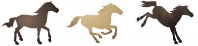 Frise 3 chevaux