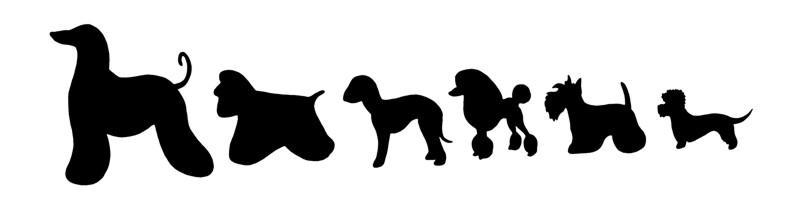 Fri754124 frise chiens