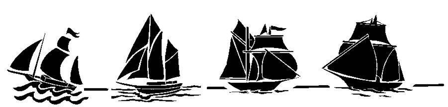 Fri754245 frise bateaux