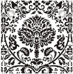 Grand motif baroque