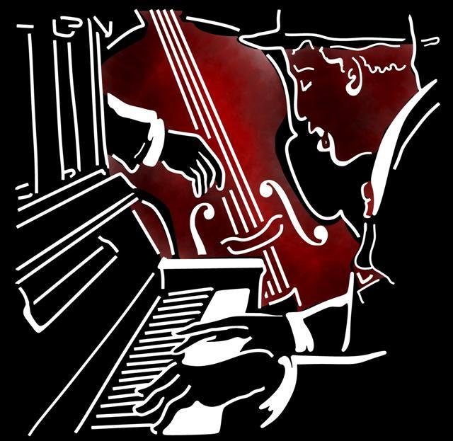 Jazz man musicien style pochoir mon artisane