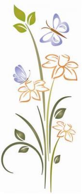 Papillon fleur 1
