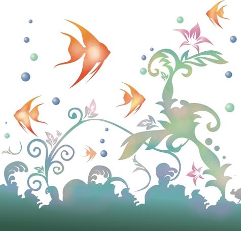 Paysage design sous marin p