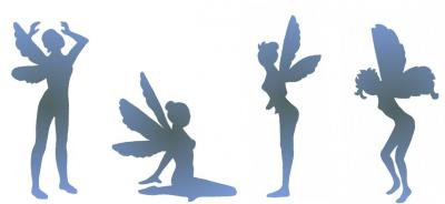 frise de 4 fées