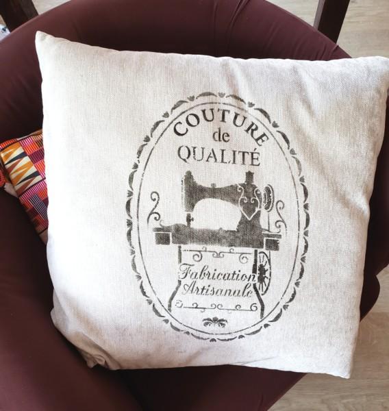Pochoir couture vintage geraldine