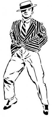 Danseur au chapeau