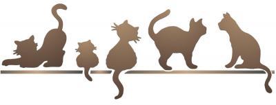 Frise de chats