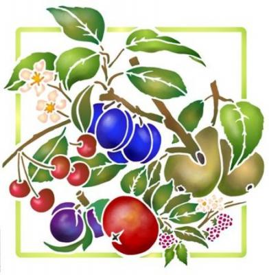 Carré de fruits