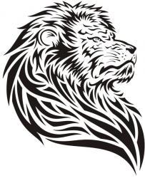 Lion de côté