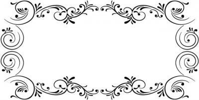 rectangle volutes baroques